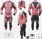 LADIES PINK PANTHER WITH HUMP WOMENS MOTORBIKE /MOTORCYCLE LEATHER SUIT / JACKET