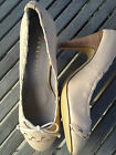 Stylesnob heels women's shoes/ Leather/ lght camel/ size Eur #36/ NEW in Box NIB