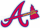 MLB Atlanta Braves Decal/Sticker for Car Truck Windows Cornhole boards Free Ship