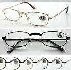 L46 3Pairs Metal Frame Reading Glasses & Enhanced Bridge Style & Classic Designs