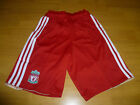 Bnwt Liverpool Home Football Shorts 2010/2012 Red Adidas Juniors