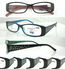 L357 Reading Glasses Spring Hinges Super Fashion +50+100+125+150+175+200+225+250