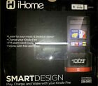 iHome iK50B SMARTDESIGN Space Saver FM Stereo Alarm Clock/Charger for Kindle Fir