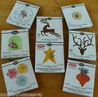 Sizzix Bigz Dies - Different Designs - multi Listing - Flowers - Tag - Reindeer