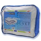 13.5 Tog Super Microfibre Duvets Quilts Washable Single Double King Superking