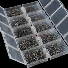 Bulk 1000 Fishing Bait Hooks Lot W/ boxes X-Strong Shank Carp Salmon Flies Tying