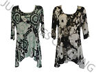 New ladies womens smock top/ tunic ladies top plus Size 16,18,20,22,24,26