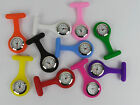 Unisex Medical Nurse Fob Watch- Silicone- Nurse/ Vet/ Doctor- Choose Colour