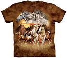 Find 15 Horses Adult  Animals Unisex T Shirt The Mountain