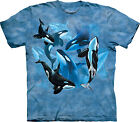 Orca Collage Adult  Animals Unisex T Shirt The Mountain