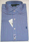 AUTHENTIC RALPH LAUREN MEN'S LONG SLEEVE CUSTOM FIT REGENT DRESS SHIRT