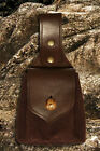 Renaissance Medieval Leather Bag WOTAN Handmade, 100% Leather