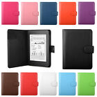 PU LEATHER CASE COVER FOR NEW KINDLE PAPERWHITE 2014 WI-FI/3G - AUTO WAKE/SLEEP