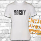 VINTAGE ROCKY LOGO T-SHIRT, COOL DESIGN