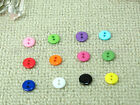 60 multi color DIY circle DIY sewing Buttons 11.5mm BU176