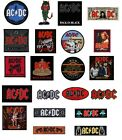 AC/DC - OFFICIAL SEW-ON PATCH acdc angus logo back in black ice highway to hell