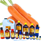 Carrot Seed Oil Extra Virgin Cold Pressed Sizes 3 ml - 1 Gallon