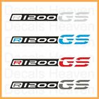 "NEW BMW R1200GS 2013 LC 2pcs Logo ""Beak"" Stickers R 1200 GS Decals M#2"