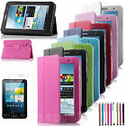 Folio PU Leather Case Cover Stand For Samsung Galaxy Tab 2 7.0 7 Tablet P3100