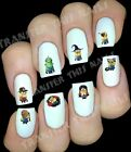 30 HALLOWEEN MINIONS NAIL ART DECALS STICKERS TRANSFERS HORROR MOVIE CHARACTERS