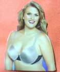 new womens underwire bra 38d 40d 40dd by curvation lightly padded for modesty