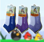 12 Pairs New Kids Low Cut Sports Ankle Socks for Aussie Kids (Size: 5-8 or 9-12)