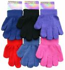 2 PAIR OF CHILDRENS MAGIC GLOVES IDEAL WINTER WARMTH IN 6 COLOURS