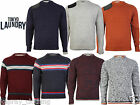 Tokyo Laundry Mens Wool Blend &Hawk Patterned Knitted Sweater/Jumper RRP£29.99