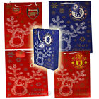 Official Football Club Crested CHRISTMAS GIFT BAG Chelsea Arsenal Man Utd LFC