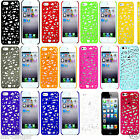 Apple Bird Nest Fashion Ultra Thin Pc Matte Case Cover For Iphone 5 5s  + Film
