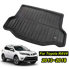 Fit For Toyota RAV4 13-18 Boot Mat Rear Trunk Liner Cargo Floor Tray Protector