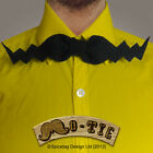 The Mo Tie 011 Bowtie Japanese Nerdy Bow Tie Movember Moustache Cool Mustache T