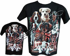 New Ladies Womens Cute Pups Animals Pet Dog Dogs T- Shirt Top By Wild