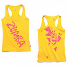Zumba ~ 3D Racerback Tank Top - YELLOW size XXL ~ Brand New! ~ Free Shipping!