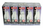 Pack 10 Candle Clear Light Bulbs 25W BC,SBC,ES,SES (Rough Service) 35mm