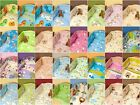 2 PCS bedding SET  PILLOWCASE & DUVET COVER FIT COT, COT BED, JUNIOR BED