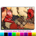 Mixed Herbs & Spices Canvas Art Print Box Framed Picture 6