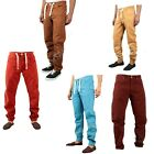 MENS  NEW ENZO DESIGNER CUFED JOGGER JEANS IN 4 TRENDY COLOURS *SPECIAL PRICE*