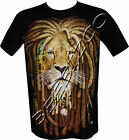 New Lion Of Judah Rasta Rastafari Reggae Bob Marley T Shirt M - XXL