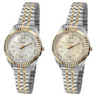 Limit Expander Ladies Watches - Two Tone Gold Plated Expander Bracelet