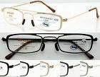 L387 NO WELDING Steel Frame Reading Glasses +100+125+150+175+200+225+250+300+350