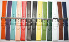 Large range of  colours and widths - leather watch strap, incl. free UK post.