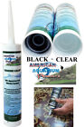 Внешний вид - Silicone Aquarium Sealant  Clear or Black 10.2 oz, FDA Approved Fish Safe by AAP