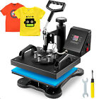 DIGITAL HEAT PRESS MACHINE T-SHIRT SUBLIMATION PRINTER TRANSFER 12
