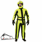 Oxford Bon Dry Fluo Waterproof Windproof Motorcycle Motorbike Over Rain Suits