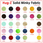 SOLID MINKY FABRIC 58