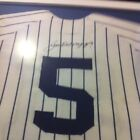 Extremely Rare Old Timer Game Worn JOE DIMAGGIO AUTOGRAPHED JERSEY #5 YANKEES
