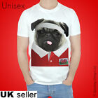 Wales Rugby Tshirt Pug T-shirt Welsh World Cup Sport Cute 2017 Cymru Dragon Top