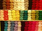 ROBIN DOUBLE KNITTING  DK WOOL/YARN ASSORTED COLOURS 100 GRAM BALL