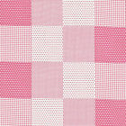 "COTTON 100% RETRO POLKA DOTS CHECK PATCH MATCHING FABRIC FOR CLOTH BEDDING 44""W"